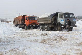 Более 2500 кубометров снега вывезли на полигоны Уссурийска
