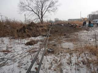 В Уссурийск доставили 15 вагонов труб для газопровода