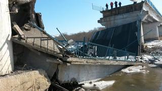 На трассе Владивосток — Находка в районе поселка Новолитовск рухнул мост