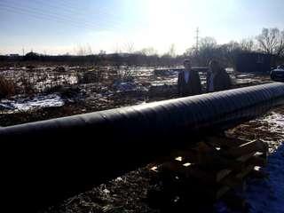 Более двух километров газопровода смонтировано в Уссурийске