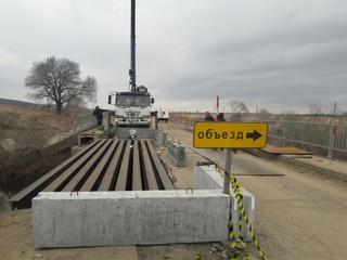 Сегодня в Яконовке восстановят двустороннее движение машин по мосту