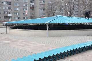 Фонтан у МЦКД «Горизонт» запустят 24 апреля