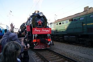 Агитпоезд «Армия Победы» посетит Уссурийск