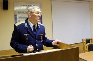 В Уссурийске транспортные полицейские узнали  из уст  ликвидатора  Чернобыльской аварии  какой след она оставила в его жизни.