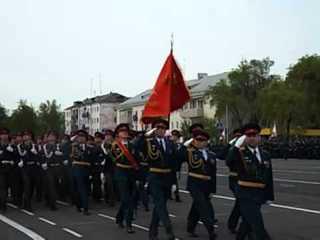 В Уссурийске репетиции военного парада на Центральной площади пройдут 5 и 7 мая