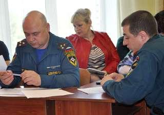 Заседание комиссии по предупреждению и ликвидации ЧС состоялось в Уссурийске