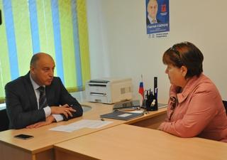 Общественная приемная советника губернатора по стратегическому развитию открылась в Уссурийске