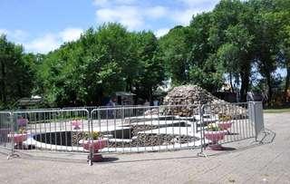 Искусственный водопад в городском парке Уссурийска снова заработает после 10-летнего перерыва
