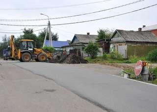 Дорожные работы в Уссурийске в самом разгаре