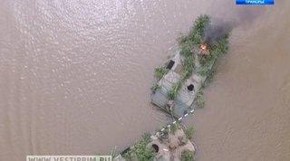 Под Уссурийском бойцы 5 армии форсировали водные преграды