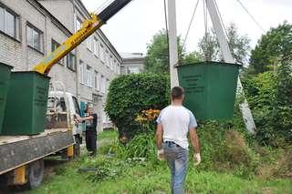 Почти 70 новых контейнеров для сбора ТБО будет размещено на территории УГО