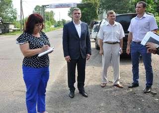 Глава администрации УГО потребовал особого внимания к дорогам Слободы