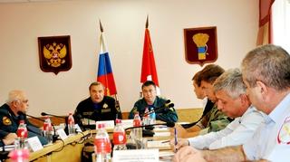 Министр МЧС России Владимир Пучков посетил Уссурийск
