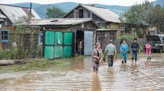 За сутки от воды в Приморском крае освободились более 600 домов