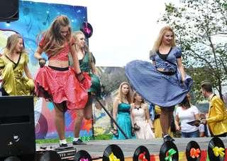 Праздничные гуляния прошли в городском парке Уссурийска