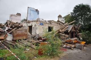 Продолжаются работы по сносу домов в Уссурийске