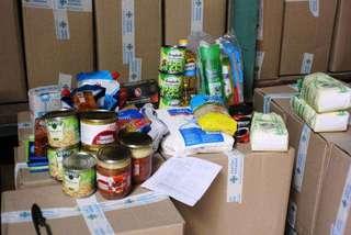 Сбор гуманитарной помощи продолжается в Уссурийске