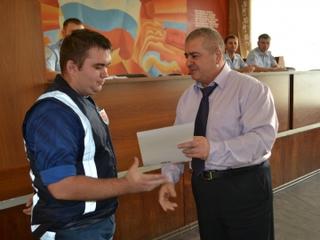Полиция Уссурийска выразила благодарность члену добровольной народной дружины