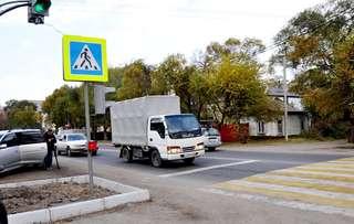 Первый в Уссурийске «светофор по требованию» введен в эксплуатацию