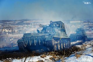 Ракетчики и артиллеристы Уссурийска потренировались в нанесении ударов по условному противнику