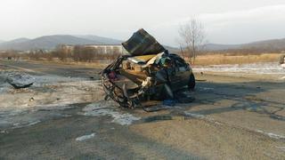 В первые дни наступившего года в Приморском крае зарегистрировано 228 ДТП