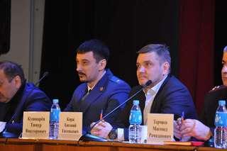 Встречу с жителями округа в рамках проезда по территории провел Евгений Корж в селе Борисовка