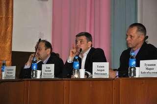 Глава администрации УГО встретился с жителями сел Пуциловка, Богатырка, Монакино и Улитовка