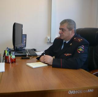 В Уссурийске начальник отдела полиции провел прием иностранных граждан