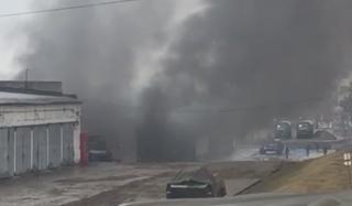 На территории воинской части в Уссурийске сгорела БМП