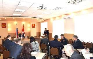 Заседании антитеррористической комиссии прошло в Уссурийске