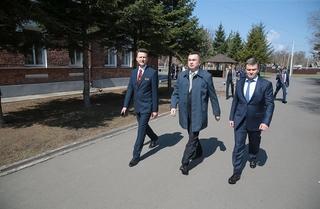 Итоги рабочего визита Губернатора Приморья Владимира Миклушевского в Уссурийский городской округ