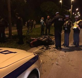 Страшная авария с мотоциклистом произошла в Уссурийске