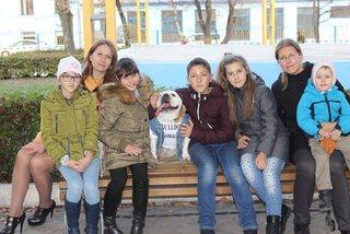 Необычная собака живет в Уссурийске