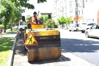 Почти пять тысяч квадратных метров дорожного полотна отремонтировали рабочие в Уссурийске за текущую неделю