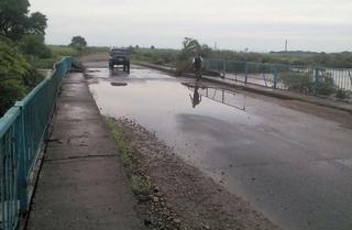 Уровень воды в реках Приморья спадает