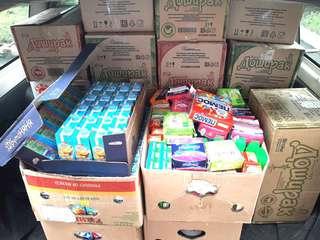 Гуманитарная помощь пострадавшим от наводнения в Уссурийске поступает от неравнодушных граждан