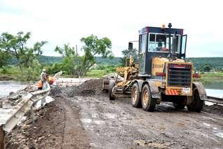 Временная переправа около села Кроуновка восстановлена