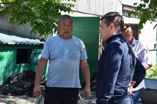 В Уссурийске Евгений Корж встретился с пострадавшими от наводнения жителями