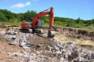 На Кугуковском водохранилище продолжаются восстановительные работы