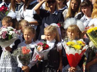 День знаний прошел во всех школах Уссурийска