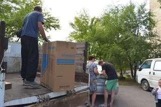 Для уссурийцев, потерявших во время наводнения все имущество, закуплена бытовая техника