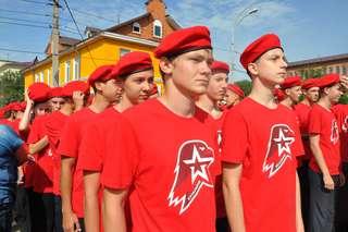 Тысяча уссурийских школьников вступили в ряды военно-патриотического движения «Юнармия» в День города