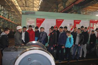 Уссурийский ЛРЗ открыл двери для школьников и студентов