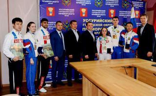Уссурийские тхэквондисты привезли награды с чемпионата и Первенства мира