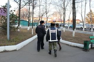 В с. Воздвиженка сотрудники полиции совместно с представителями ДНД провели профилактический рейд