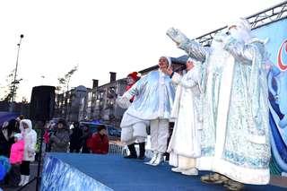 Более тысячи жителей Уссурийска пришли на праздничное открытие ледового городка