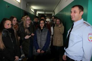 В Уссурийске сотрудники полиции провели акцию «Студенческий десант»