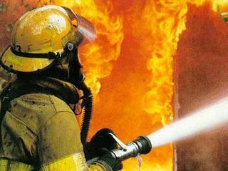 В Уссурийске огнеборцы потушили пожар в частном доме