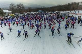 В Приморье на старт «Лыжни России-2018» вышли 1500 участников