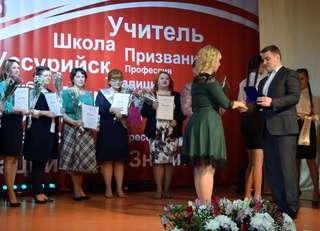 В Уссурийске подвели итоги муниципального профессионального конкурса «Педагог года - 2018»